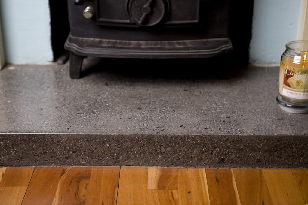 Concrete Fireplace Hearth Quotes